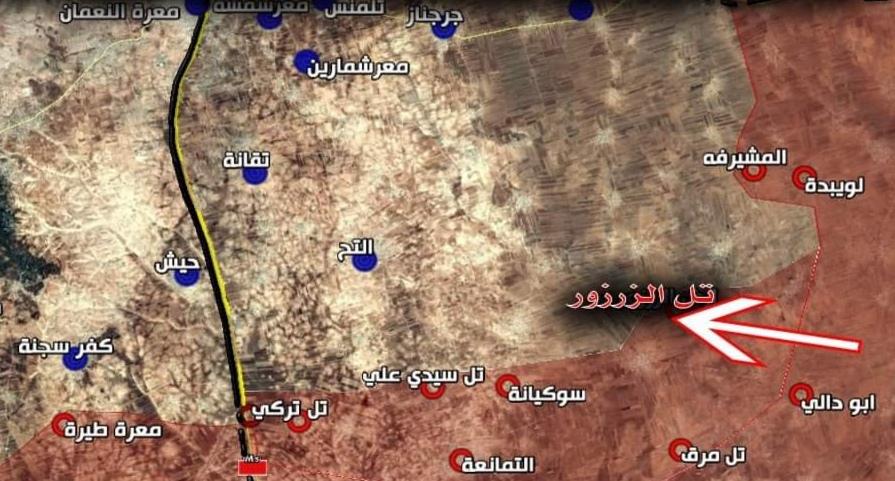 """Photo of محور """"ريف إدلب الجنوبي"""" .. معارك عنيفة والجيش يَسكر خطوط القوقاز"""