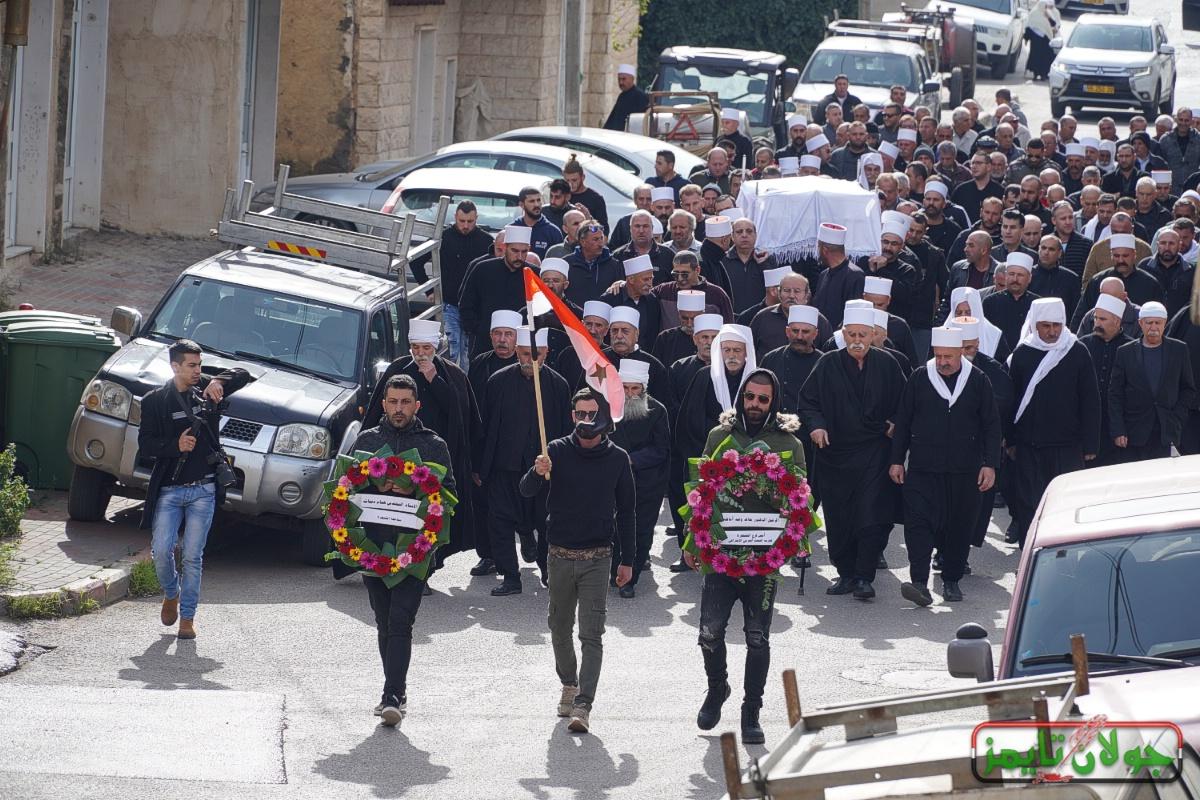 Photo of اسد الحركة الوطنية في الجولان المحتل يترجل