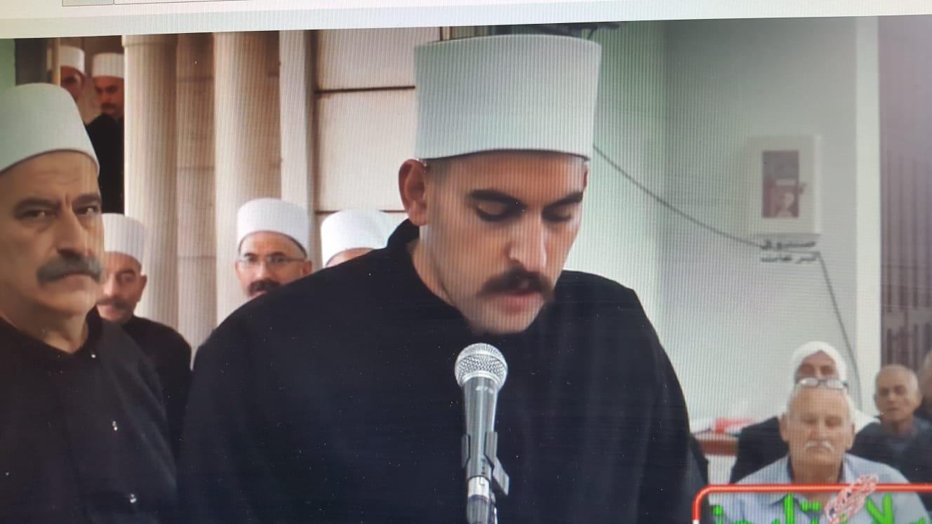 Photo of كلمة الشيخ سلمان احمد شمس في حفل تابين المرحوم الشيخ ركان الاطرش في مجدل شمس