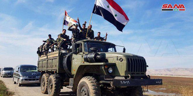 Photo of وحدات الجيش تبدأ انتشارها في المناطق الحدودية بريف القامشلي