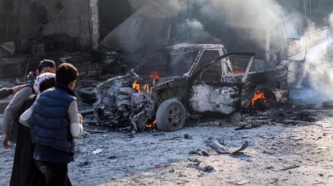 Photo of شهداء وجرحى بانفجار سيارة مفخخة بتل أبيض شمال سوريا