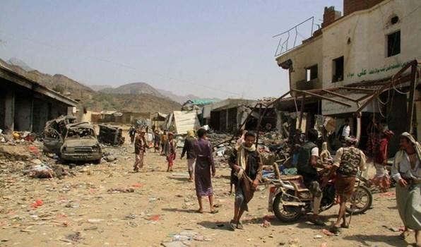 Photo of مجزرة سعودية في اليمن و الحصيلة 17 شهيداً