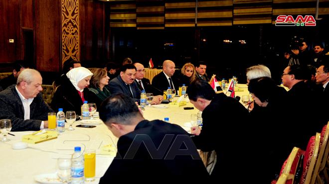 "Photo of اللجنة الاقتصادية ""السورية – الكورية"" تبدأ أعمالها بدمشق"