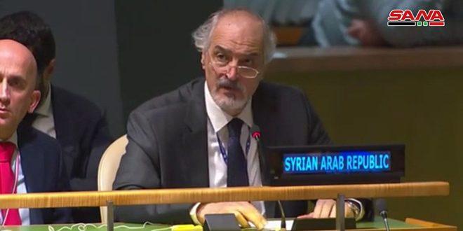 Photo of الجعفري: هناك دول أسست آليات أممية غير حيادية هدفها فبركة الاتهامات ضد سوريا