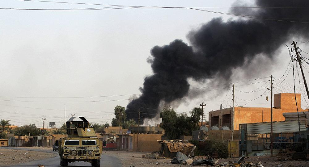 Photo of ٢٥ شهيداً و ٥١ جريحاً بقصف أمريكي على قوات الحشد الشعبي بالعراق