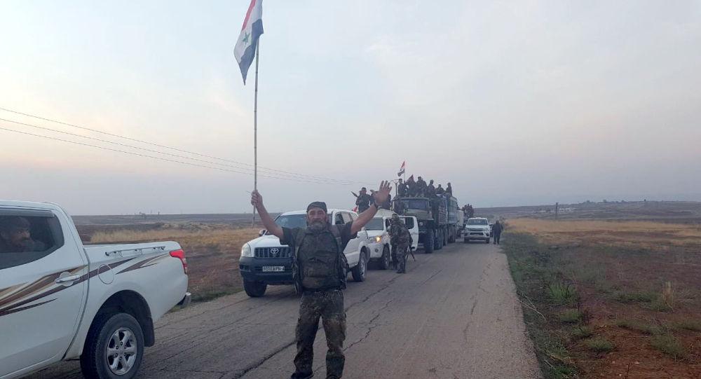 """Photo of شريان الشرق يعود للحياة.. طريق """" الحسكة- حلب"""""""