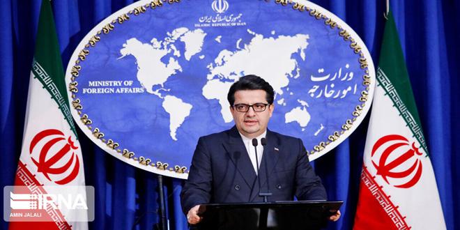 Photo of إيران تُدين العدوان الأمريكي على قوات الحشد الشعبي بالعراق