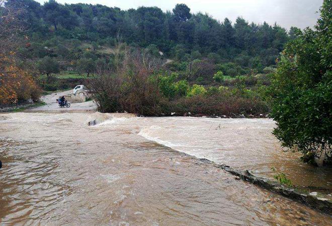 Photo of أمطار الخير ترفع نسبة التحزين بسدود طرطوس
