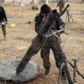 رداً على اعتداءها بالقذائف.. الجيش يقصف مواقع إرهابية بريف حلب