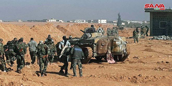 الجيش يُحرر عدة قرى ومزارع بريف إدلب (صور)