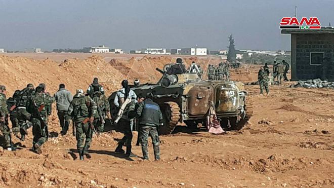 Photo of الجيش يُحرر عدة قرى ومزارع بريف إدلب (صور)