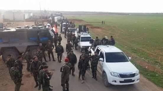 "Photo of ""معركة إدلب"" … الجيش يحشد قواته والطيران الحربي يُكثف غارته"
