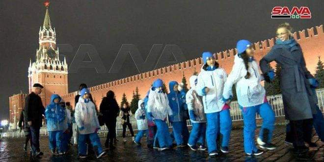 Photo of Twenty children of martyrs' sons visit Moscow on entertainment journey