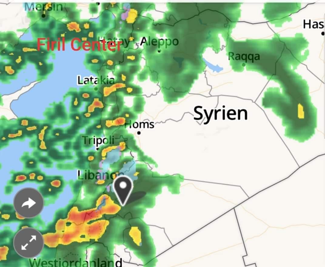 Photo of أمطار غزيرة بمختلف المحافظات السورية
