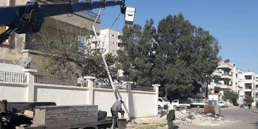 """Photo of إنارة شوارع """"حمص"""" بالطاقة الشمسية"""