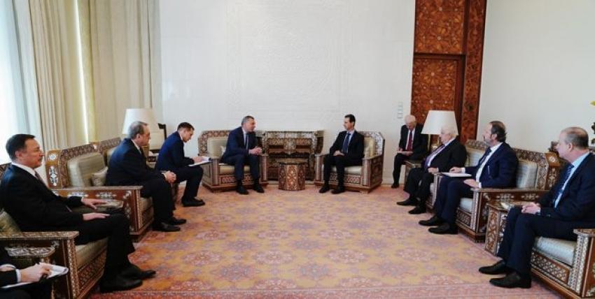 Photo of الأسد يبحث مع بوريسوف التعاون الاقتصادي مع روسيا