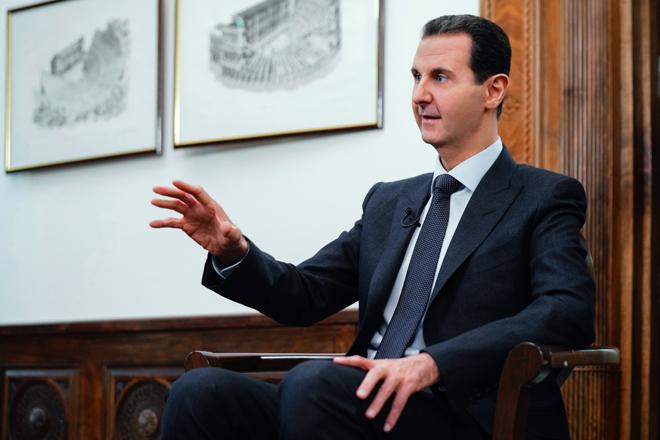 """Photo of الأسد: سوريا باتت جاهزة لدخول بالمبادرة الاقتصادية """"الحزام والطريق"""" الصينية"""