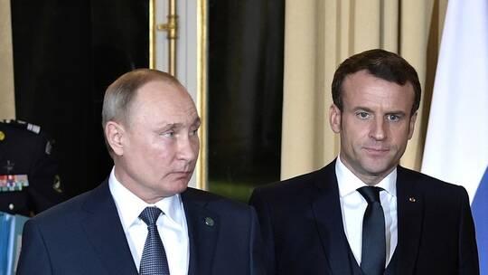 Photo of بوتين وماكرون قلقان من اغتيال سليماني