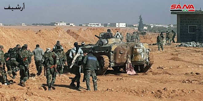 Photo of الجيش يقصف تجمعات إرهابية في منطقتي سراقب ومعرة النعمان بريف إدلب
