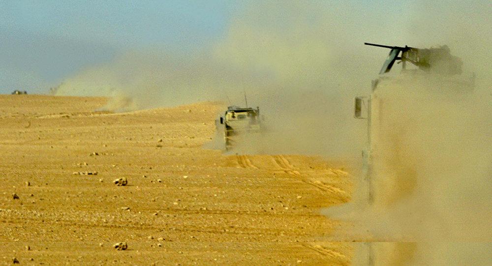 Photo of تحصينات عسكرية على الحدود العراقية السورية