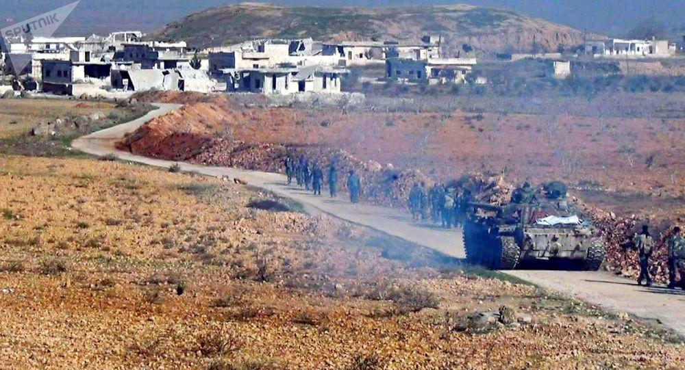 "Photo of الجيش يفجر سيارة مفخخة مع انتحاري ويتصدى لهجوم ""القوقاز"" شرق إدلب"
