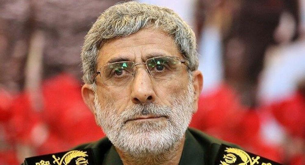 Photo of قائد فيلق القدس الجديد: سنقاتل لإخراج أمريكا نهائياً من المنطقة بعد مقتل سليماني