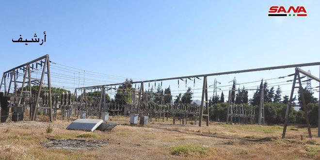 Photo of 1,7 مليار ليرة أضرار منظومة الكهرباء جراء الإرهاب بريف حماة