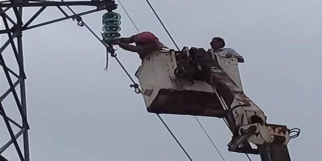 Photo of الكهرباء تعود لمحافظة الحسكة بعد عطل فني