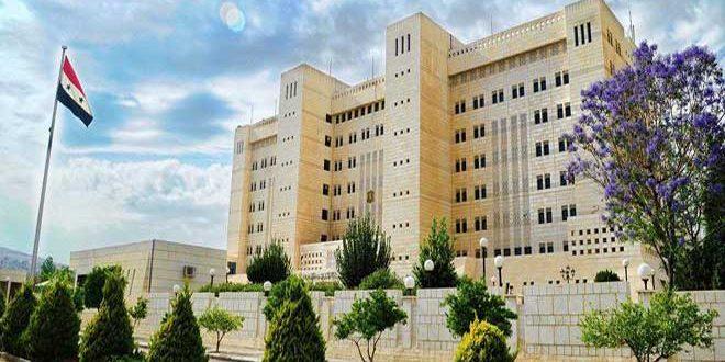 بيان الخارجية السورية: دمشق تُدين بشدة العدوان الأمريكي الذي أدى إلى استشهاد اللواء الإيراني سليماني ونائب رئيس الحشد الشعبي العراقي
