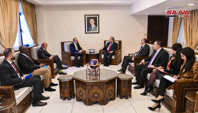 Photo of مباحثات حول تعزيز التعاون بين الحكومة السورية واليونيسيف
