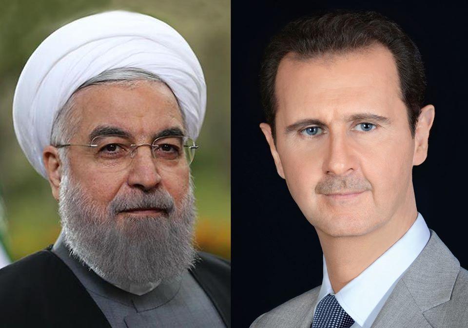 الأسد لـ روحاني: دماء الشهداء ستزيد محور المقاومة قوةً وتعاضداً