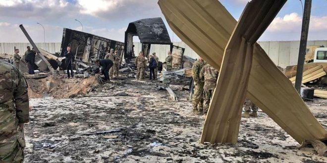 Photo of البنتاغون يقر بإصابة 64 جندياً أميركياً في الضربة الإيرانية