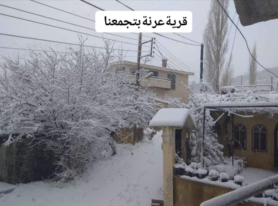 Photo of خلال ٢٤ ساعة.. ثلوج بسماكة ١٥ سم بعرنة و امطار بغزارة ٦٢ مم في اللاذقية