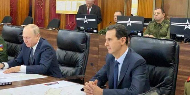 بوتين يزور الأسد بدمشق