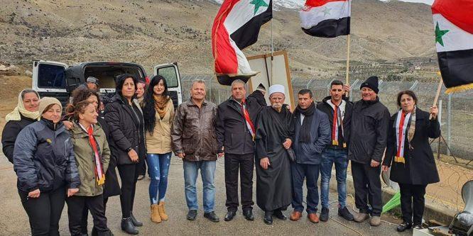 """من عين التينة لـ """"صدقي المقت"""" و""""أمل ابو صالح"""" تحية إجلال لانتصار إرادة المقاومة (صور)"""