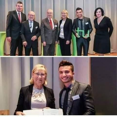 Photo of شاب سوري يحصل على جائزة DAAD كأفضل طالب أجنبي في ألمانيا