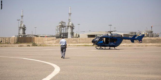 عمال النفط الأمريكيون يغادرون العراق