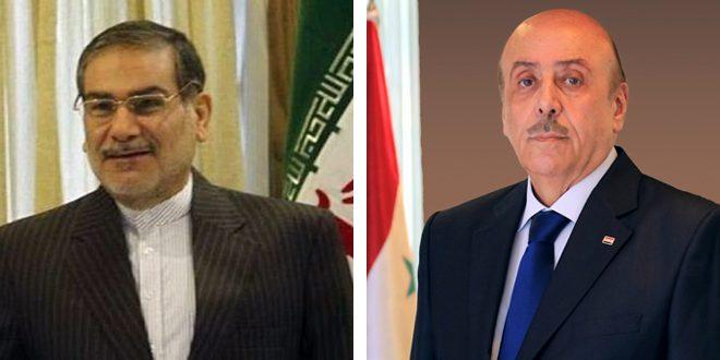 مبعوثاً خاصاً للرئيس الأسد.. اللواء مملوك يزور طهران ويلتقي شمخاني