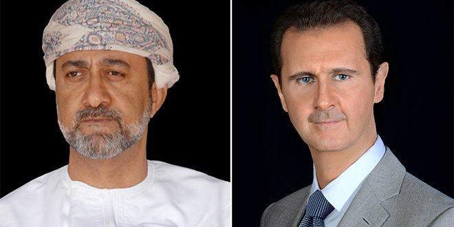 Photo of الرئيس الأسد في برقية تعزية: السلطان الراحل قاد سلطنة عمان في مسيرة نهوضها وازدهارها