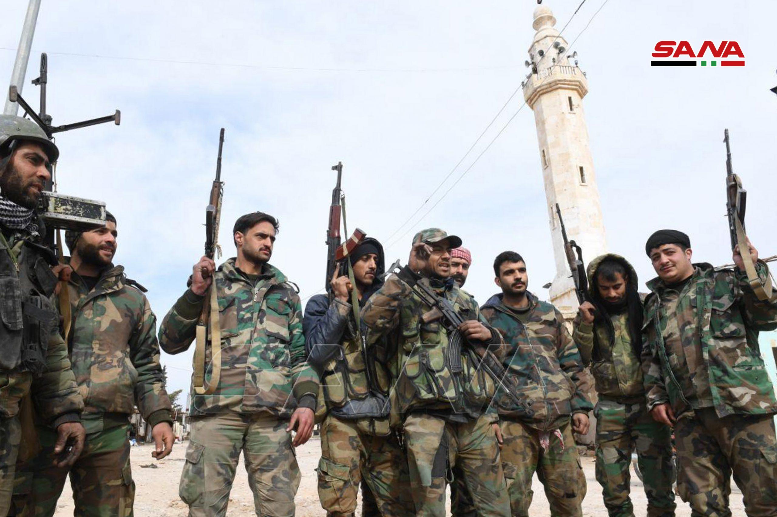 """Photo of غرب حلب.. """"خان العسل والراشدين 4"""" بيد الجيش"""