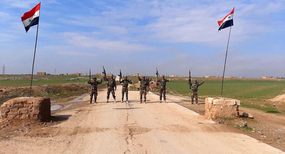 Photo of الجيش يطرد دورية للجيش الأمريكي شرق الحسكة.