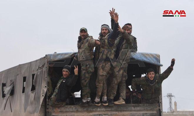 """Photo of تقدم نوعي يُحققه الجيش بريفي """"إدلب وحلب"""""""