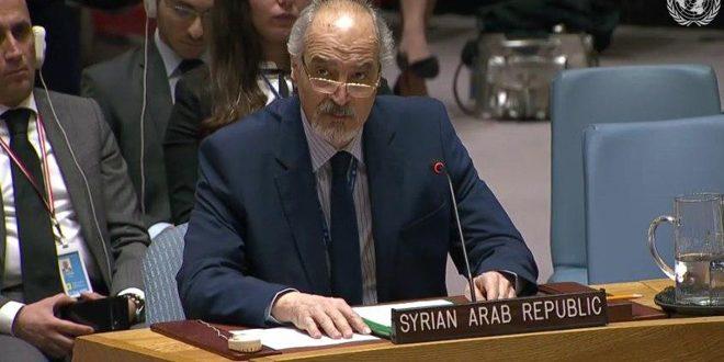 Photo of الجعفري: سورية ترفض محاولة تسخير آليات الأمم المتحدة لتصبح أداة ضغط على دول بعينها