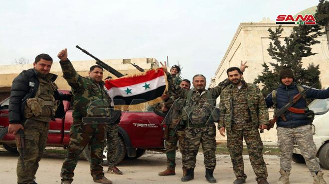 "Photo of تقدم مُستمر.. الجيش يُحرر قرى "" بسرطون وحور وعنجارة"" بريف حلب"