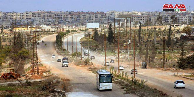 "Photo of رسمياً.. افتتاح الطريق الدولي ""دمشق – حلب"""