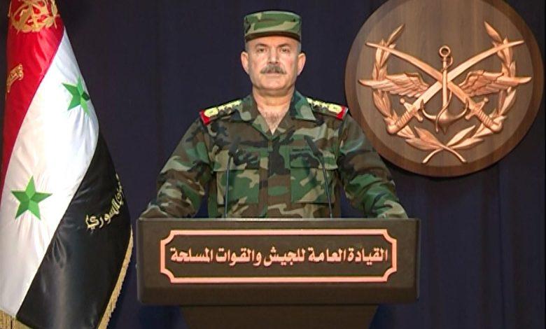 Photo of القيادة العامة للجيش تعلن عن تحرير عشرات القرى والبلدات في ريف حلب الغربي والشمالي