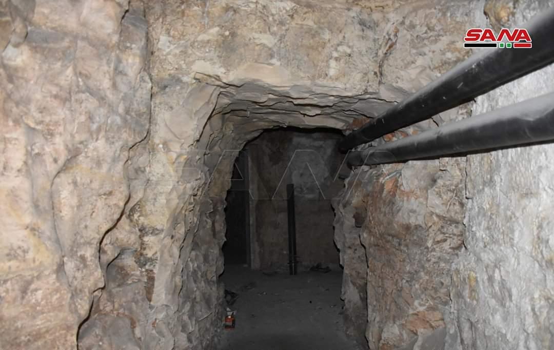 Photo of Syrian Arab Army discovers underground headquarters for terrorists in Saraqeb, Idleb