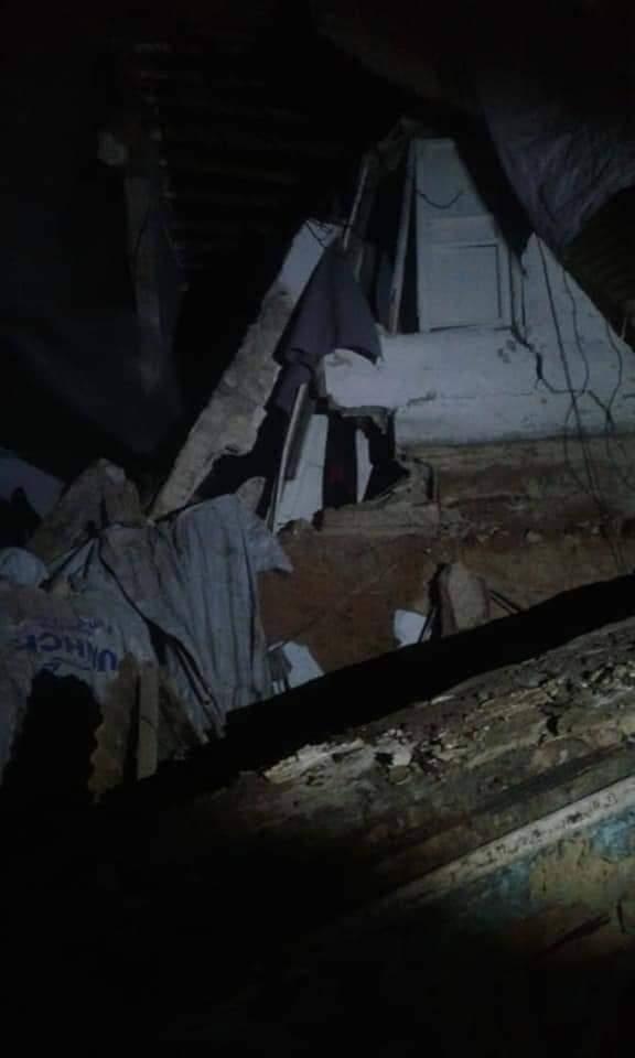 Photo of انهيار بناء سكني في ركن الدين بدمشق