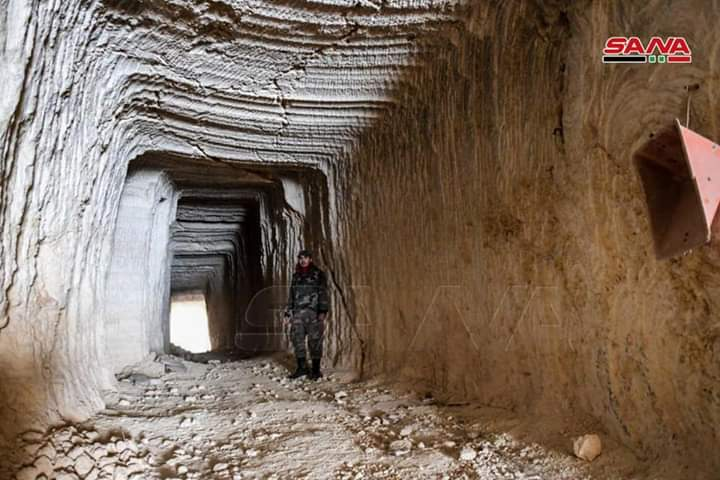 Photo of Syrian Arab Army discovers terrorists 'tunnels in Aleppo countryside