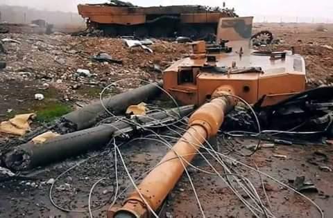 Photo of مضادات الدروع السورية تتصيد الدبابات والمدرعات التركية شرق إدلب